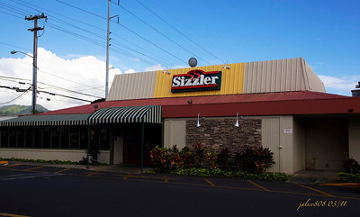 Sizzler Steak House, Dillingham Blvd, Honolulu, O'ahu, Hawai'i - Day 66 of 365, March 7, 2011