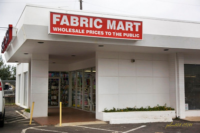 Fabric Mart, Kane'ohe, O'ahu, Hawai'i - Day 129 of 365, May 9, 2011