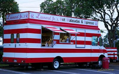 Leonard Jr's Malasadas Truck, Windward Shopping Center, Kane'ohe, O'ahu, Hawai'i - Day 133 of 365, May 13, 2011