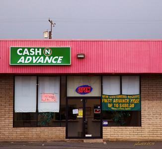 Cash N Advance, Dillingham Blvd, Honolulu, O'ahu, Hawai'i - Day 122 of 365, May 2, 2011
