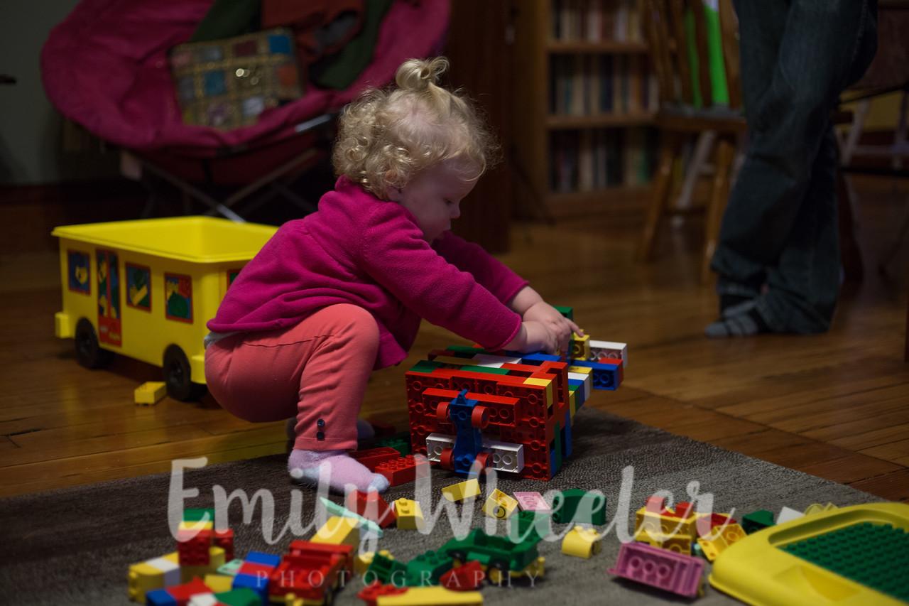 Day 329 | November 24th<br /> Playing legos at Thanksgiving!