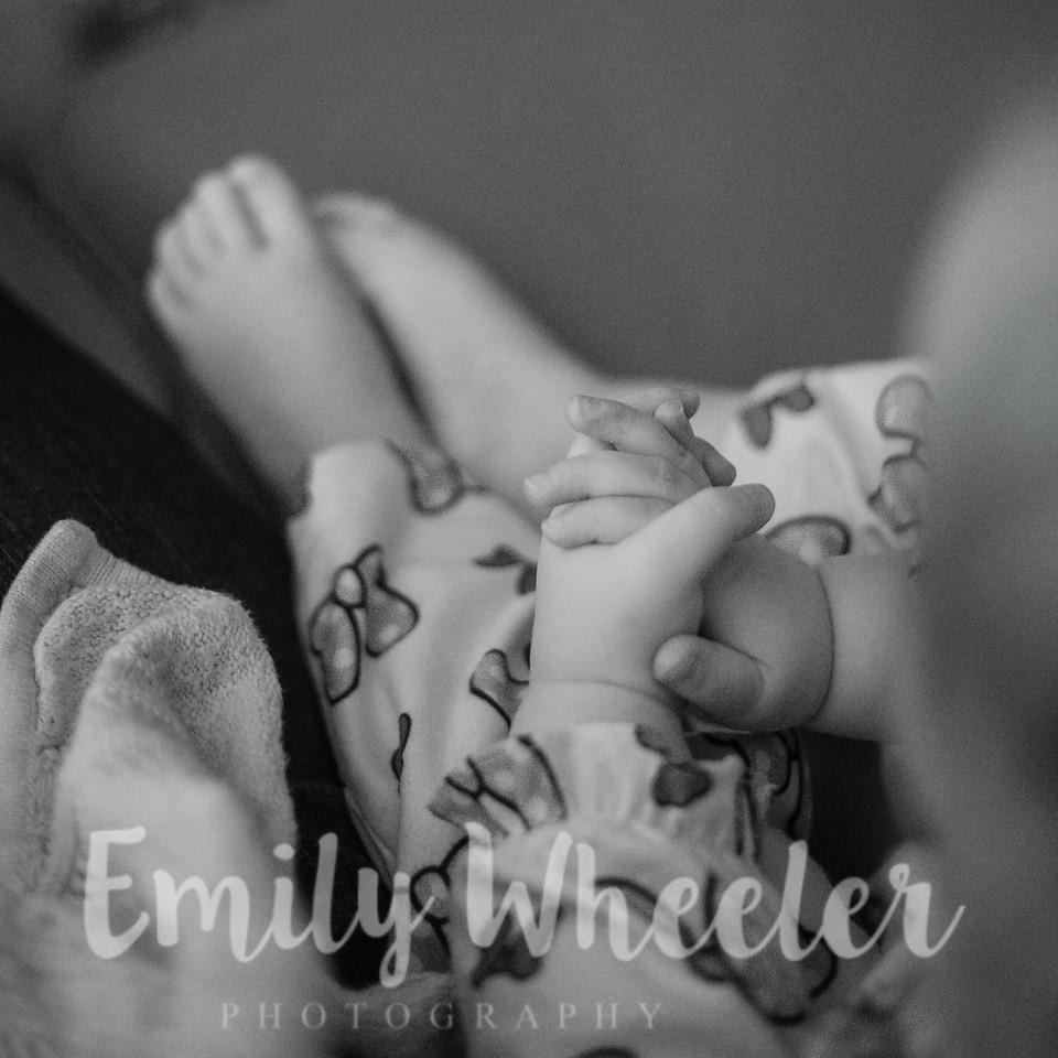 Day 361 | December 26th<br /> Her little folded hands.