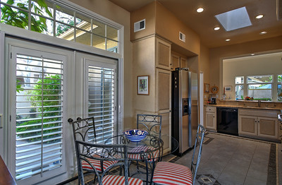FRENCH DOORS OPEN TO COURTYARD