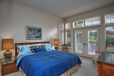MASTER SUITE WITH PLANTATION SHUTTERS