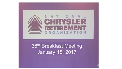 36th Breakfast Meeting - January 18, 2017