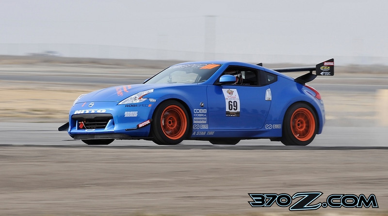 Robispec Nissan 370Z at Buttonwillow raceway Super Lap Battle