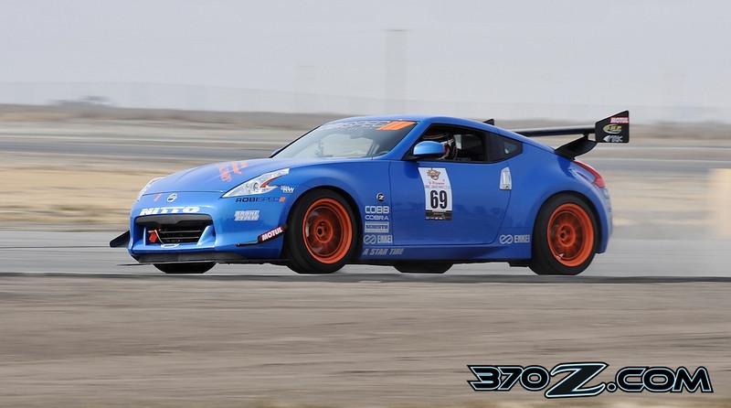 Robispec Nissan 370Z at Buttonwillow raceway Super Lap Battle