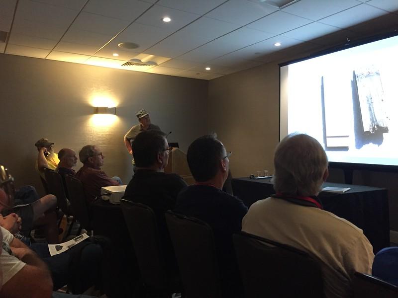 Bob Farmer talking as well on #1008's Rebuild
