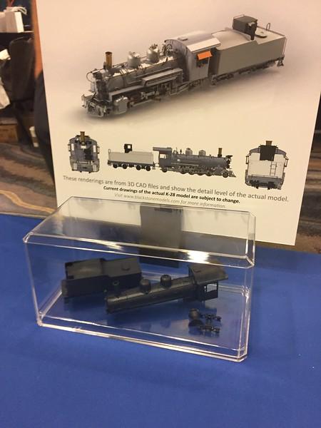Blackstone K-28 and Tender 3D Prints