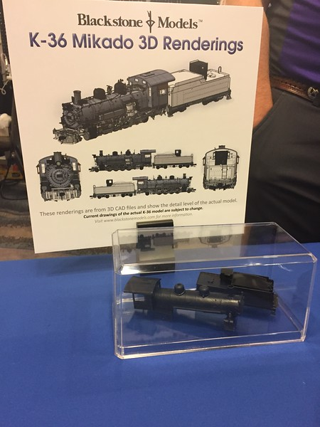 Blackstone K-36 Boiler and Tender 3D Prints