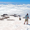 My Epic Hikes Photo Album-2016.<br>https://connect.garmin.com/modern/activity/1238784268<br>Hard core 9-mile/4700' elevation gain hike through snow fields to the 10,000-foot level of Mount Rainier-Camp Muir round-2.<br>Next time I hike - it's scheduled to be the real deal. Past Camp Muir (halfway point) and all the way to the summit of Mount Rainier, beyond 14,000-feet. I can only hope the weather will be as spectacular as these Muir hikes.<br>The last 3 weekends have included 2 round-trip hikes to Rainier/Camp Muir and a 28-mile wilderness hike with mountain pack. In between- a return to running, disciplined yoga and intense strength training. I'm physically and mentally prepared to summit Rainier. My self-confidence is where I need it to be. I've done my part. Trained with/learned from experienced climbers, invested in the right gear. Now the mountain has to come to me…acceptable weather, climbing team chemistry, etc. I've done everything within my power to increase the odds from the as advertised, only 50% success rate for climbers attempting to summit Rainier. It's GO time!<br>Bill R. Mt Adams.<br><br>WA-rainier_muir02jul2016I8263