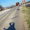 """GW387-14mar2018-Oklahoma City OK. <a href=""""https://connect.garmin.com/modern/activity/2556378033Hitchhiking"""">https://connect.garmin.com/modern/activity/2556378033Hitchhiking</a> Route-66 to supplement my rave running kicks…<br /> Part of a 10-mile run around Lake Overholser, Oklahoma City. Had a stellar sunset, but the Oklahoma winds are legit!<br /> The normally accessible dam was closed at the park end, preventing a full 7-mile loop. So I opted to run out to the old, historic Route-66 bridge (5-miles), before turning back."""