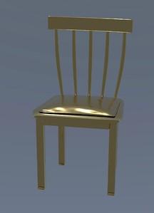 1-18 A seemingly organic chair
