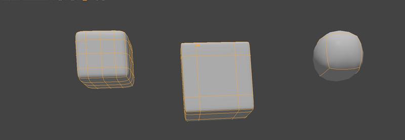 6-113 Modo's subdivision tool