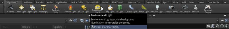 7-128 Creating an environmental light (and a camera)