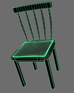 1-19 The polygon chair