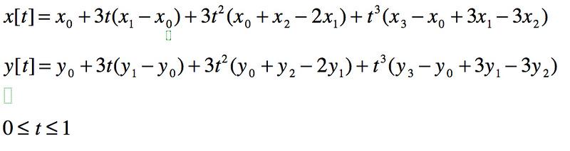 Figure 2 15 Bezier polynomials