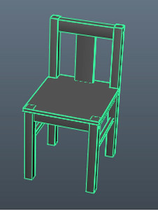 Figure 2 14 a chair of straight edges