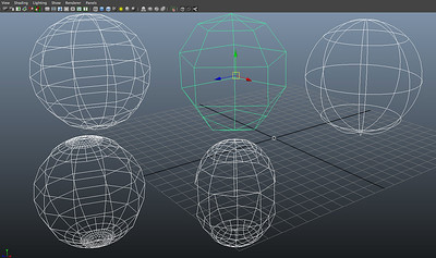 Figure 2 9 polygons, nurbs & subdivision