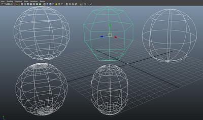 Figure 2 9 polygons, nurbs & subdivision