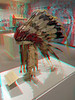 674 Feather bonnet possibly owned by Chief Joseph