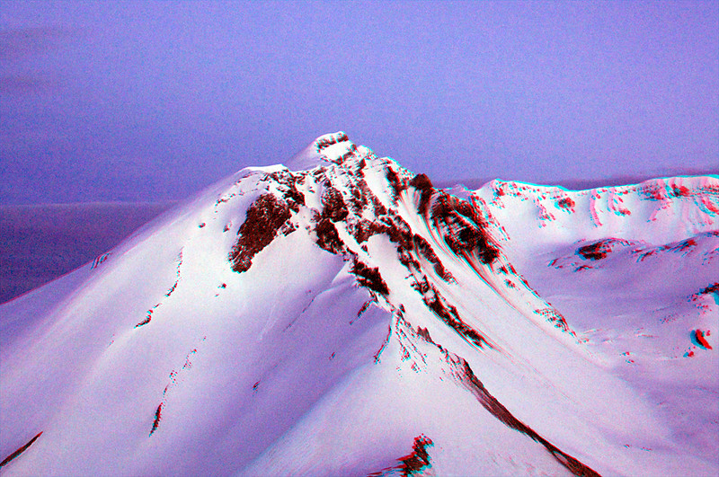 2912 Mt St Helens east crater rim