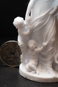 .25mm nozzle, 1mm layer height