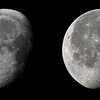 Partial phase moon from 25 Dec 2010 and 14 Nov 2011