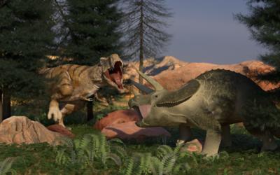 T-Rex vs. Trike
