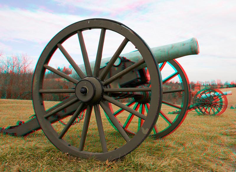 Brass Barreled Cannon at Antietam Battlefield