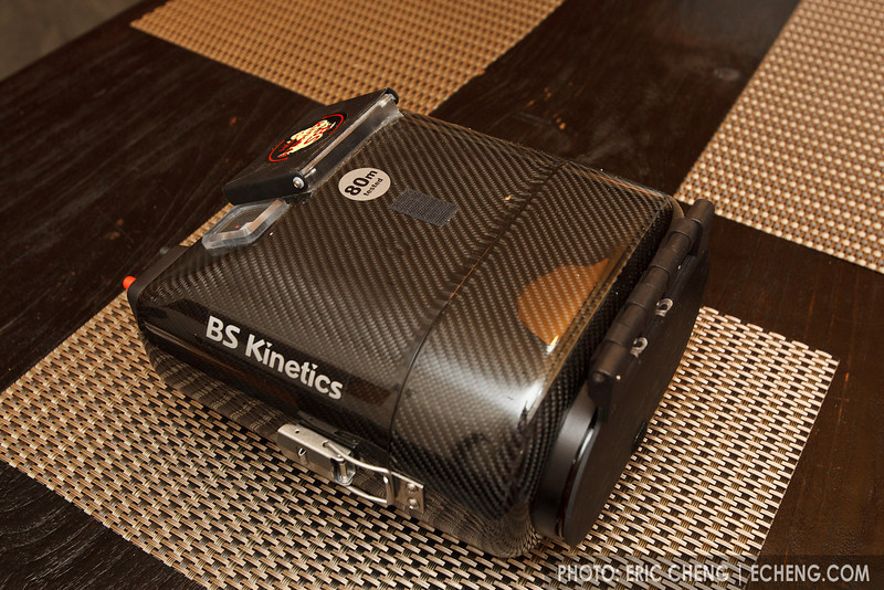 BS Kinetics 3D Stereoscopic underwater housing (carbon fiber)