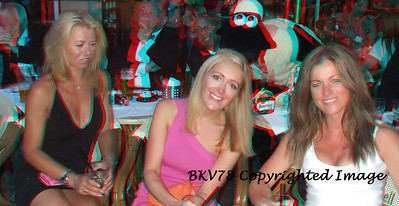 3D red/cyan glasses are required