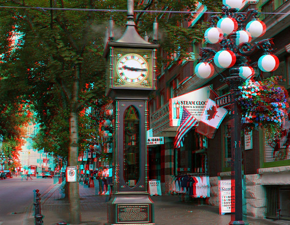 Gastown Steamclock