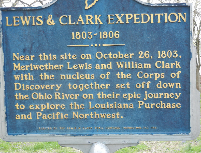 """The nucleus of the Lewis and Clark Corps of Discovery were a group of the initial nine soldiers recruited and boarded the keelboat at the Falls of the Ohio.  These nine recruits were all currently living in Kentucky and were commonly referred to as """"The Nine Young Men from Kentucky""""."""