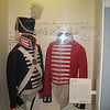 Dress uniform of military officer during the 1800's.  When dressed in Military Dress uniform the two captains were most impressive to the Indian Chiefs.  These uniforms probably did not last long as the weather and wear of the rugged terrain was certainly most destructive to their uniforms.  By the winter of 1805 the men were making new clothing from elk and deer hides.