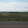 The Missouri River in the distance.