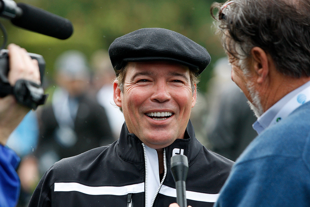 . Clay Walker during the 3M Celebrity Challenge at the Pebble Beach Golf Links on Wednesday, Feb. 8, 2017 during the AT&T Pebble Beach Pro Am.  (Vern Fisher - Monterey Herald)