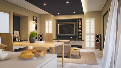 Photo Realistic Interior Perspective