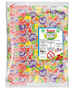 74135 3kg Fruity Pops Lollies Bulk