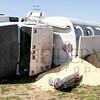 Grain Truck Rollover in Earl Twp.