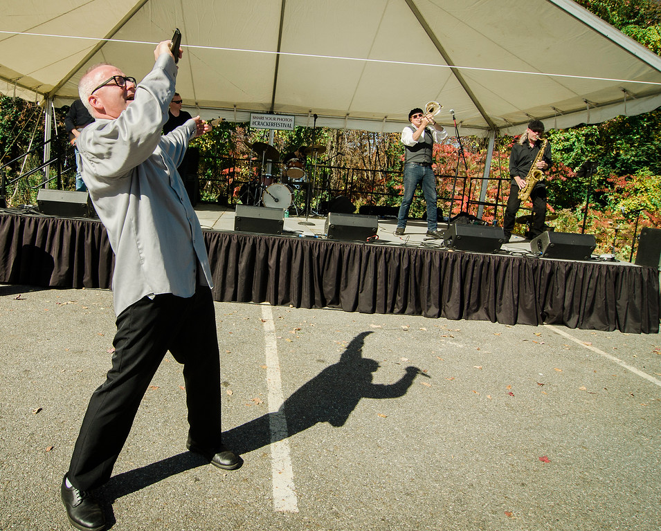 . Clutch Grabwell performs during the 3rd annual Westminster Cracker Festival on Saturday, October 21, 2017. SENTINEL & ENTERPRISE / Ashley Green