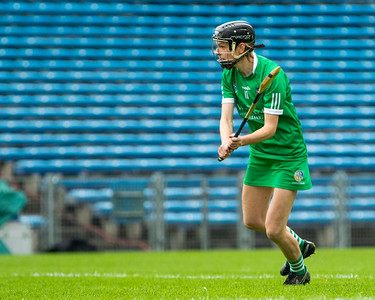 Limerick's Niamh Mulcahy takes a penalty