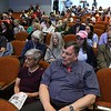 The debate for the Third District was held at Fitchburg State University's Conlon Fine Arts building on Wednesday night in Fitchburg. The crowd listens to the answers from the candidates at the debate. SENTINEL & ENTERPRISE/JOHN LOVE