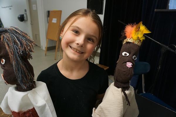 3rd Grade Puppet Show