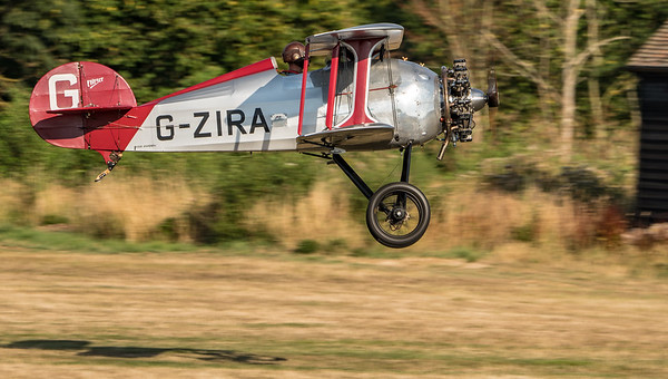 Departure, Family Airshow 2018, Old Warden, Shuttleworth - 05/08/2018:18:21