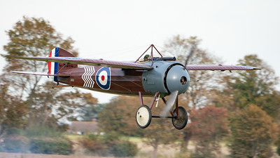 Shuttleworth, Old Warden-> Race Day 2018-> Display-> WW1 Racers, Aircraft-> Bristol Aeroplane Company-> M.1C-> C4918 - 07/10/2018@16:29
