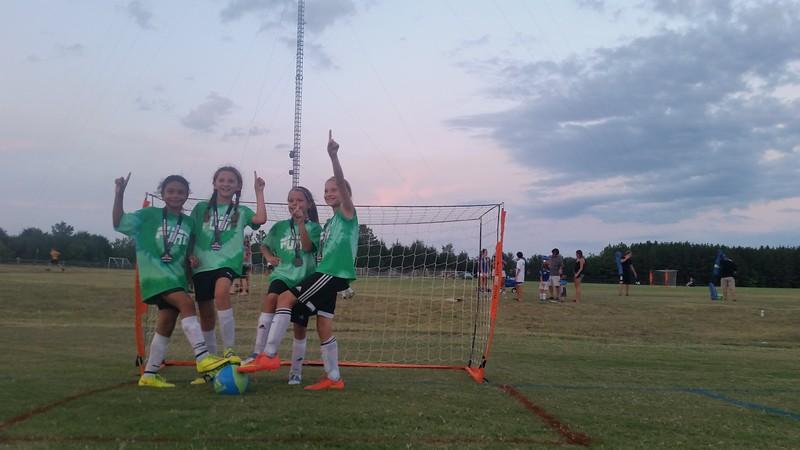 super sweet girls, but fierce on the field. FURY!