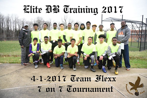 4-1-2017 7 on 7 Elite DB Training