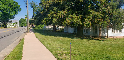New sidewalks