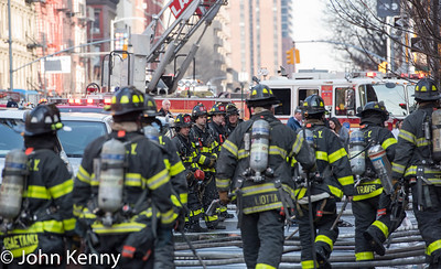 4 Alarm Fire - 2nd Ave/83rd Street 2-8-17